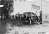 Glidden tourists stopped on rural road near Kearney, Neb., at 1909 Glidden Tour