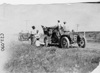 Glidden tourists stopped along roadside near Kearney, Neb., at 1909 Glidden Tour