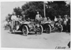 Premier cars arrive in Kearney, Neb., at 1909 Glidden Tour