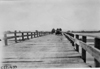 W.F. Winchester in Pierce-Arrow car #9 crossing the North Platte River Bridge, at the 1909 Glidden Tour