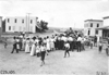 Crowd in North Platte, Neb., at the 1909 Glidden Tour