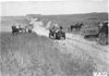 Thomas car passing through quicksand near Sutherland, Neb., at the 1909 Glidden Tour