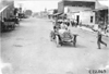 John Machesky in Chalmers car #105 passing through Ogallala, Neb., at the 1909 Glidden Tour