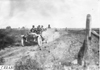 Glidden tourists on a rutted, rural road in Colo., at 1909 Glidden Tour
