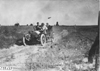 Glidden tourists on a rutted, rural road on the Colorado prairie, at 1909 Glidden Tour