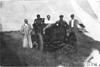 Acme car on the Colorado prairie, at 1909 Glidden Tour