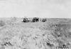 Glidden tourists on the Colorado prairie near Aurora, at 1909 Glidden Tour
