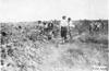 Locals watch Glidden tourist vehicle on rural road near Aurora, Colo., at 1909 Glidden Tour