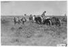 Thomas car crossing ditch near Aurora, Colo., at 1909 Glidden Tour