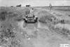 Maxwell car stuck in ditch near Aurora, Colo., at 1909 Glidden Tour