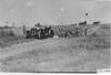Glidden tourists help Maxwell car out of ditch near Aurora, Colo., at 1909 Glidden Tour