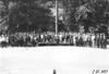 Glidden tourists in front of Denver Motor Club, Denver, Colo., at 1909 Glidden Tour