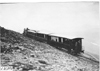 Glidden tourists on train headed for Mt. McClellan, Colo., at 1909 Glidden Tour