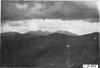 View of Mt. Evans and Mt. Rosella in Colo., at 1909 Glidden Tour