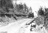 Rapid motor truck on mountain road in Colo., at 1909 Glidden Tour