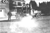 Rapid motor truck parked in front of building in Colo., at 1909 Glidden Tour