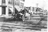 American Simplex car arriving in Hugo, Colo., at the 1909 Glidden Tour