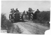 Premier car passing Moline on rural road in Kansas, at 1909 Glidden Tour