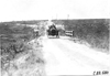 Moline car crossing wooden bridge near Bunker Hill, Kan., at 1909 Glidden Tour