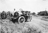 E.M.F car on side of rural road near Junction City, Kan., at 1909 Glidden Tour