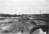 View from front of car of plank road near Junction City, Kan., at 1909 Glidden Tour