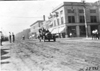 Maxwell car on city street in Junction City, Kan., at 1909 Glidden Tour