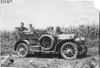 Maxwell car stopped on rural road near Manhattan, Kan., at 1909 Glidden Tour