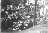 Large crowd surrounds Premier car at Kansas City, Mo., at 1909 Glidden Tour