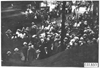 Large crowd surrounds Marmon car at Kansas City, Mo., at 1909 Glidden Tour