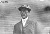 F.A. Trinkle, driver of Bush car, at 1909 Glidden Tour