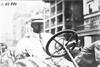 C.H. Van Dervoort, driver of the Moline car, at 1909 Glidden Tour