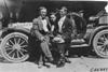 Mason car crew Roy Snyder, Clayborn and Meade at the 1909 Glidden Tour