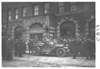 E.M.F car parked in front of Stoddard building, on pathfinder tour for 1909 Glidden Tour