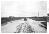 E.M.F. car on flooded road, on pathfinder tour for 1909 Glidden Tour