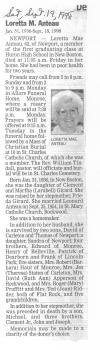 Anteau, Loretta M.