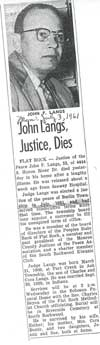 Langs, John (Justice)