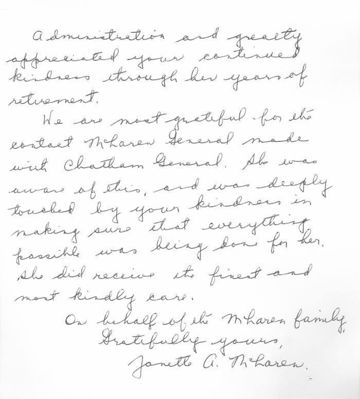 The making of modern michigan digitizing michigans hidden past thank you letter from mclaren family part 2 expocarfo