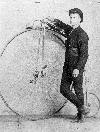 Cyclist Frank Baines
