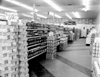 Interior of Stop & Shop Supermarket, 1950