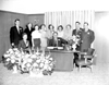 1st Federal Savings (Plymouth Mich) employees, opening day, Dec.1953