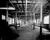 Interior of vacant Daisy Manufacturing Company building, 1961