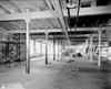 Interior of the vacant Daisy Manufacturing Company, 1961