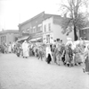 Costumed marchers in the Halloween Parade on Main Street, October, 1950