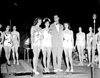 Govenor G. Mennen Williams with contestants in Miss Plymouth Beauty Pageant