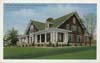 Parchment Employees and Community House postcard part 1