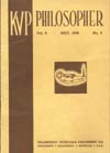 KVP Philosopher Vol. 8, No. 5, May 1939 booklet part 1