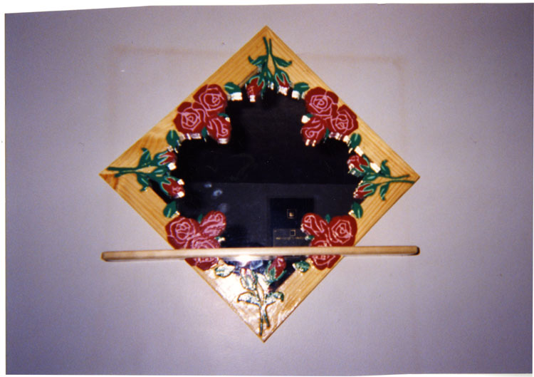 image of A decorative shelf made by the interviewee, Mark Groce.