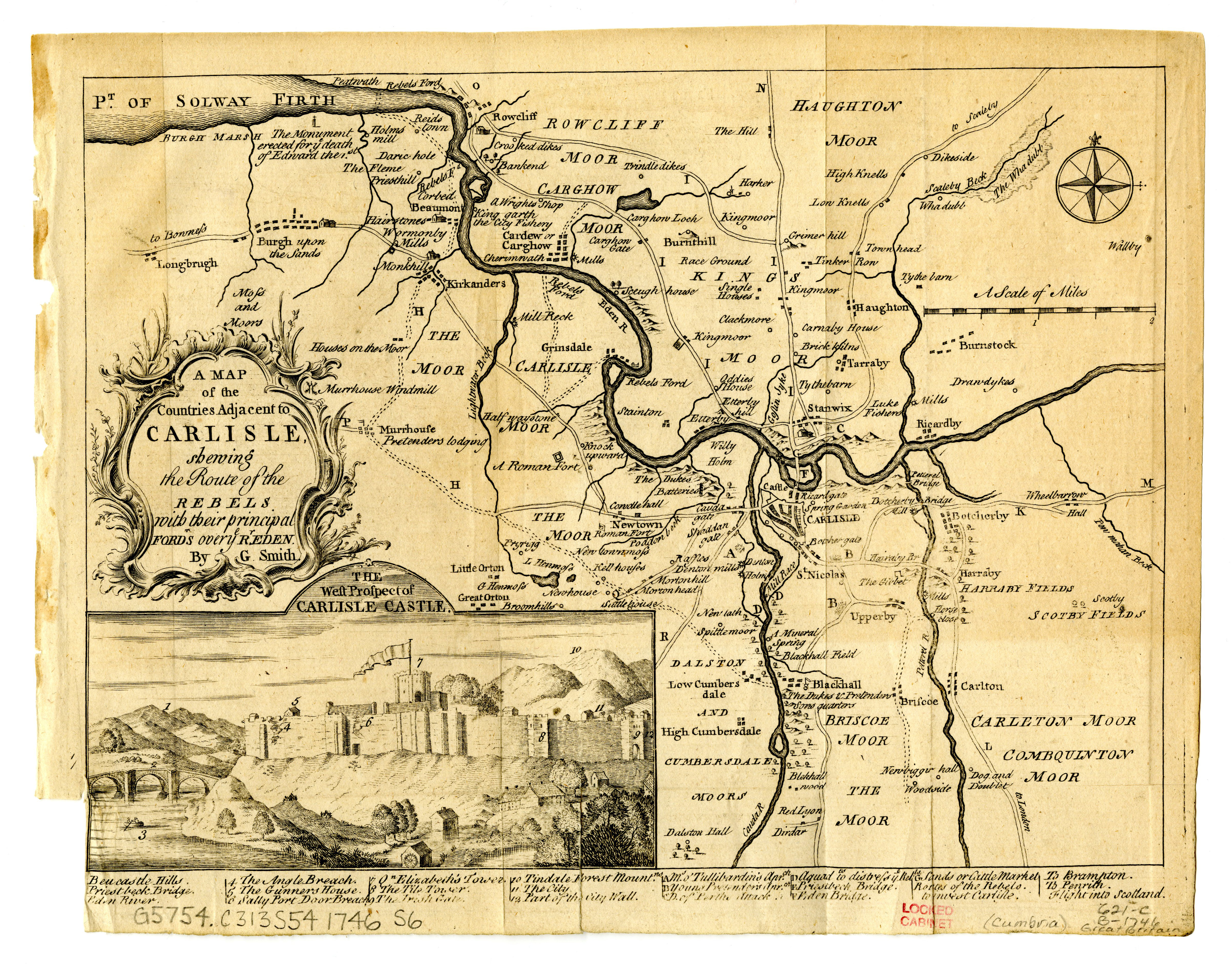 1746 Cumbria Scanned Maps Map Library MSU Libraries