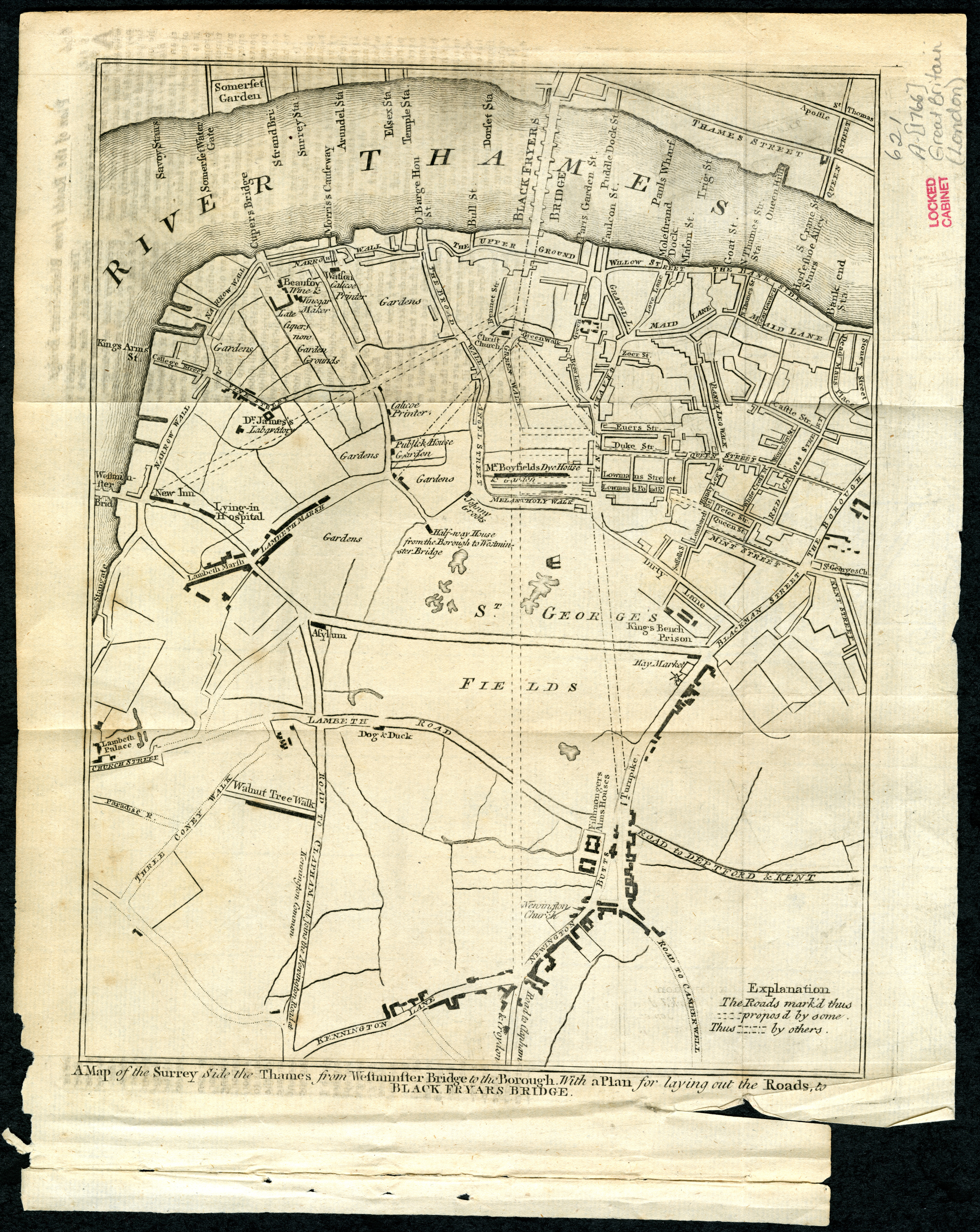 London 1766 | Scanned Maps | Map Library | MSU Libraries