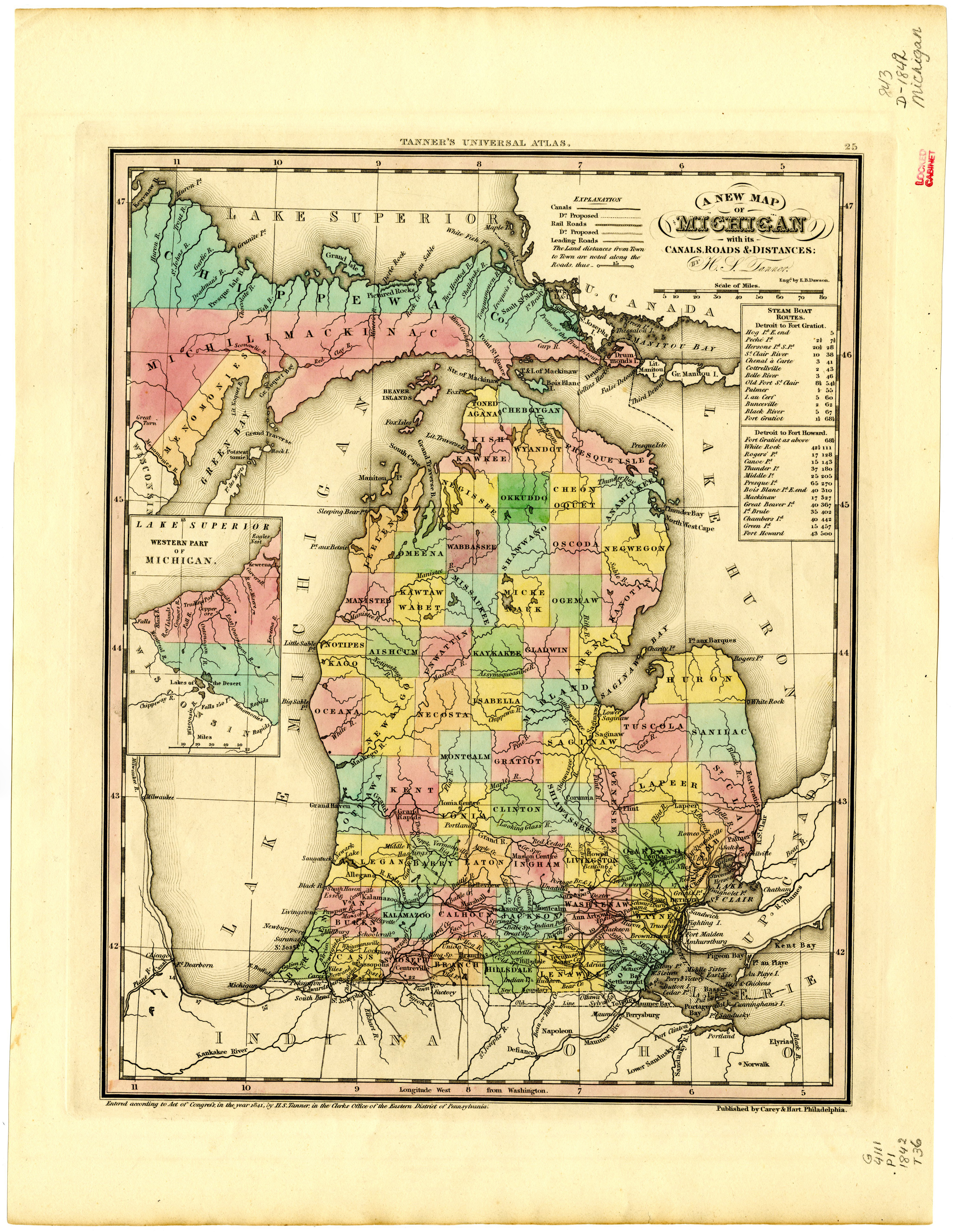Scanned Maps of Michigan | Map Library | MSU Libraries